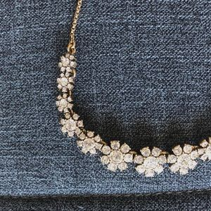 J. Crew Dainty Crystal Necklace
